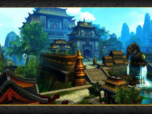 伽蓝寺风光一览