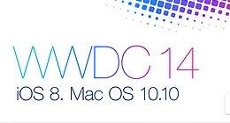 iOS 8和新Mac系统亮相WWDC大会苹果首日发布会