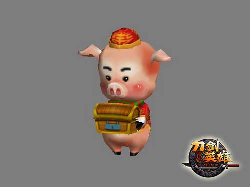 可爱猪猪萌宠头像