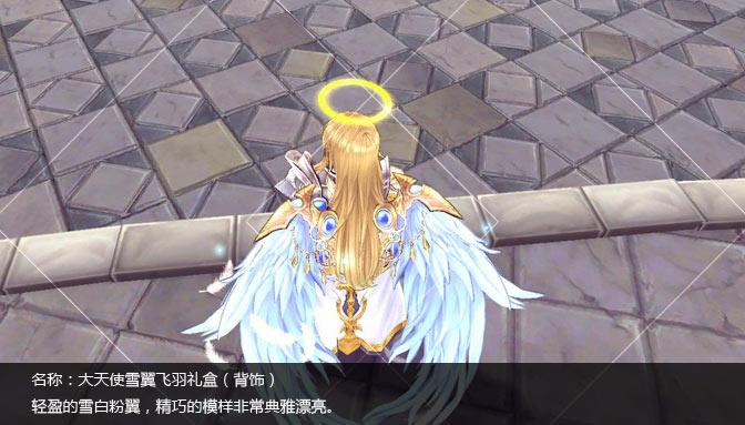 大天使雪翼飞羽礼盒
