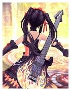 背饰·摇滚电音吉他