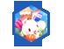 缤纷月兔汽球礼盒
