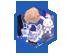 白猫动力发条礼盒(背饰)