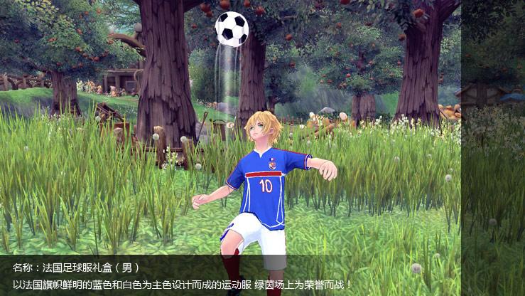 法国足球服礼盒(男)