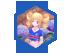 法国啦啦队服礼盒(女)、法国国旗面饰礼盒