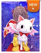 背饰·白色猫咪背包