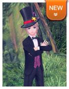 手染头饰·魔术高帽