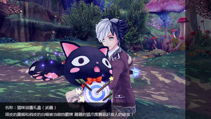 猫咪剑盾礼盒(武器)