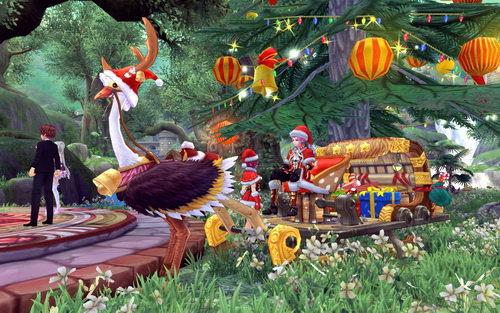 圣诞雪橇坐骑