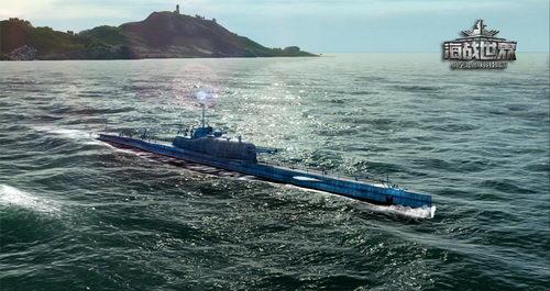 首艘法国重炮潜艇絮库夫号
