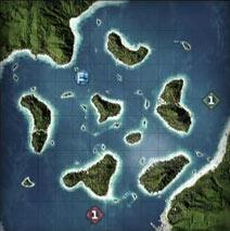金岛海峡_夺旗模式