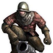 白磷迫击炮兵