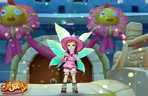 可爱 羽翼/羽翼与可爱魔法少女