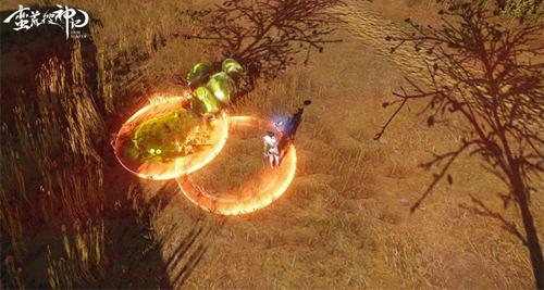 小心!一些敌人同样致命----比如这个会自爆怪物,别被秒杀了!