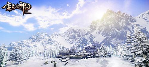 上古昆仑雪山