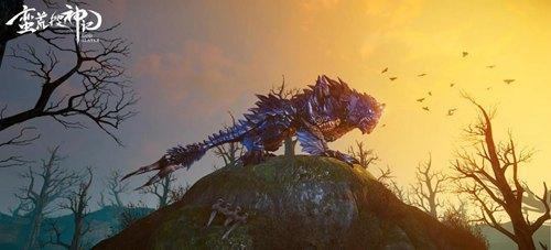 来自神话世界的凶猛异兽雪啸虎