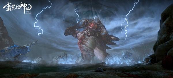 体型巨大的大荒凶兽独眼夔牛