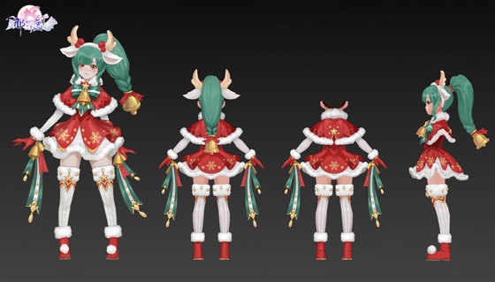 圣诞主题时装,cosplay圣诞老人