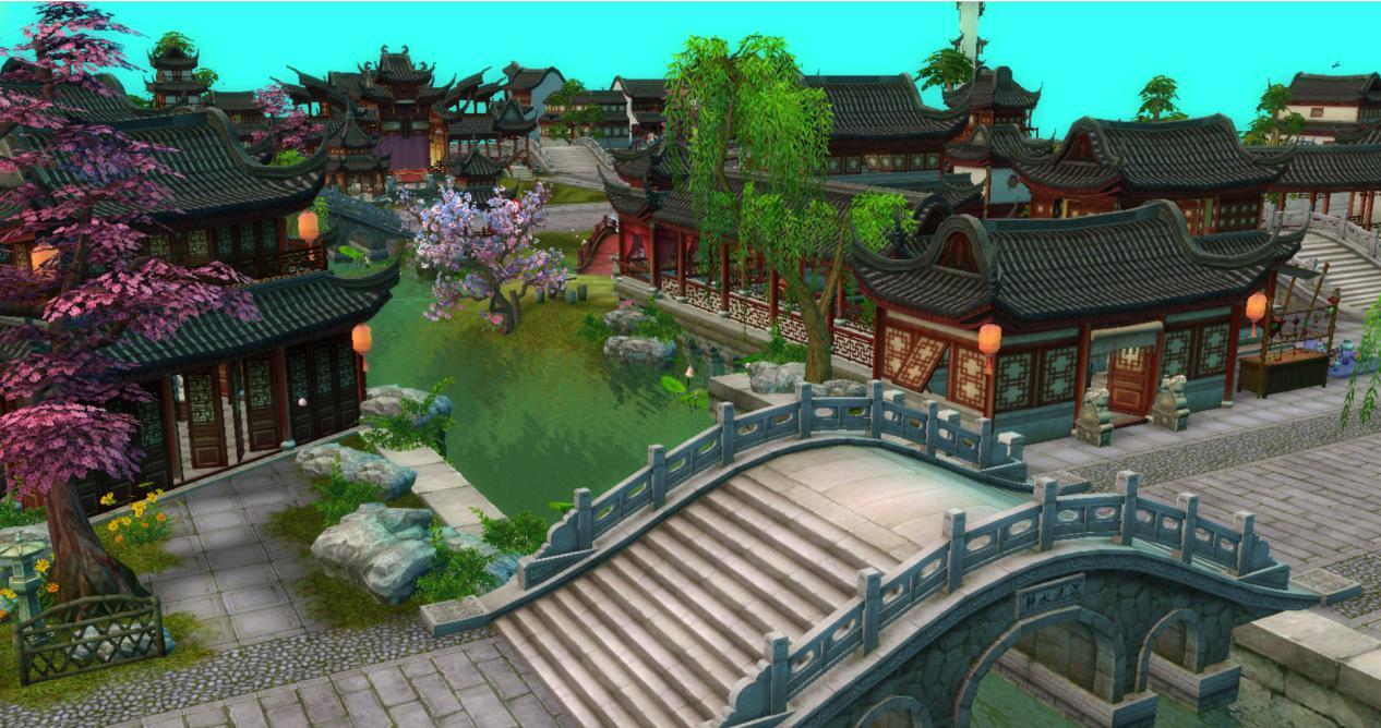 图2:游戏苏州城
