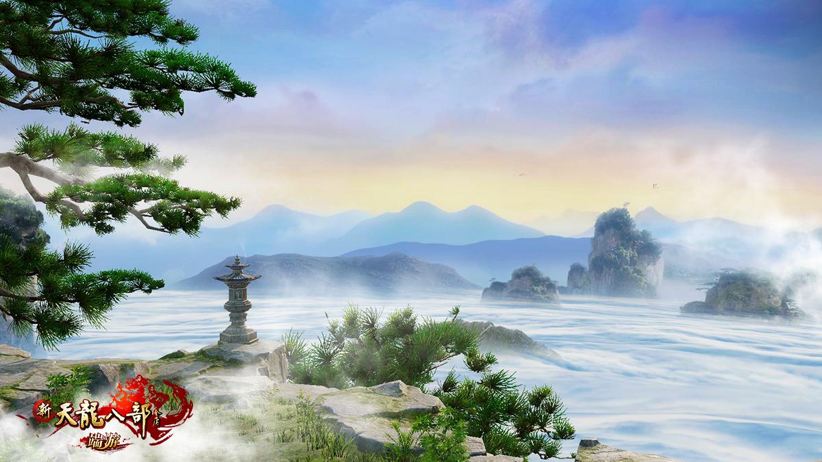 """图3:""""千仞黄山""""云海奇观"""
