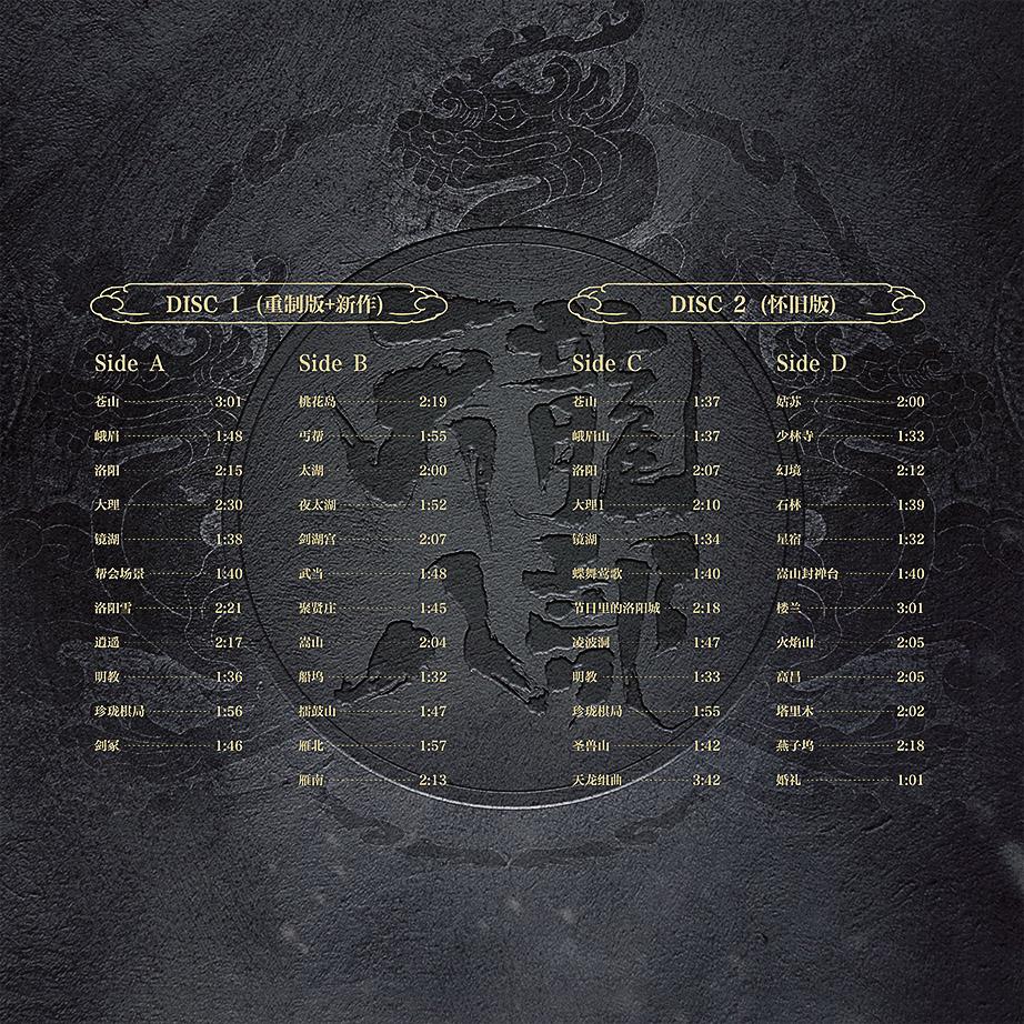 图5:曲目列表