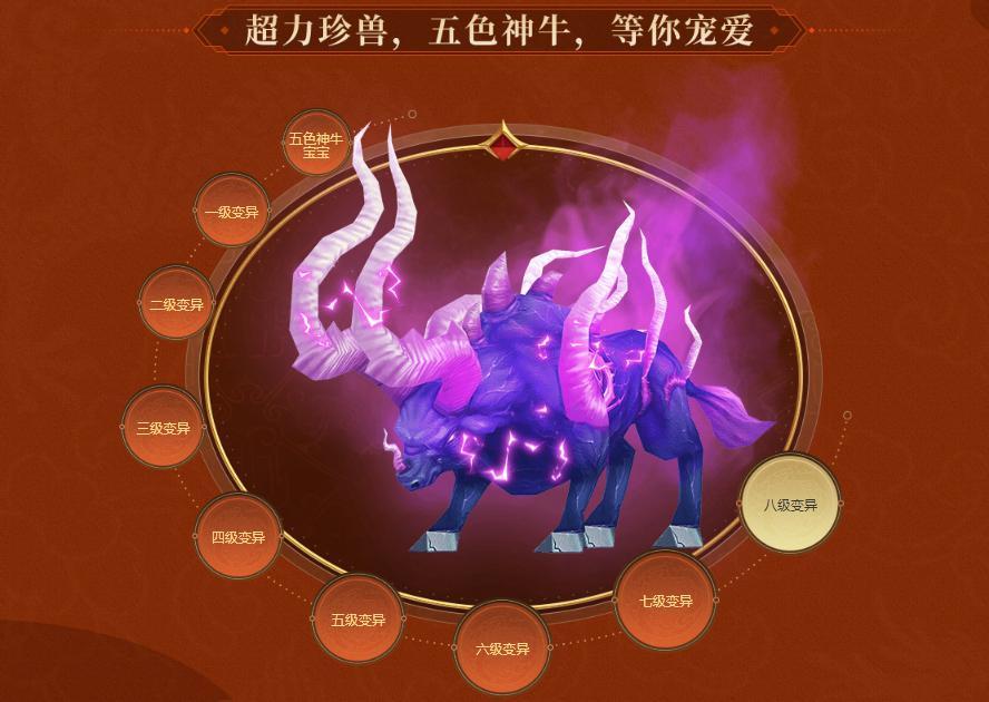 图3:超级珍兽笼(五色神牛)