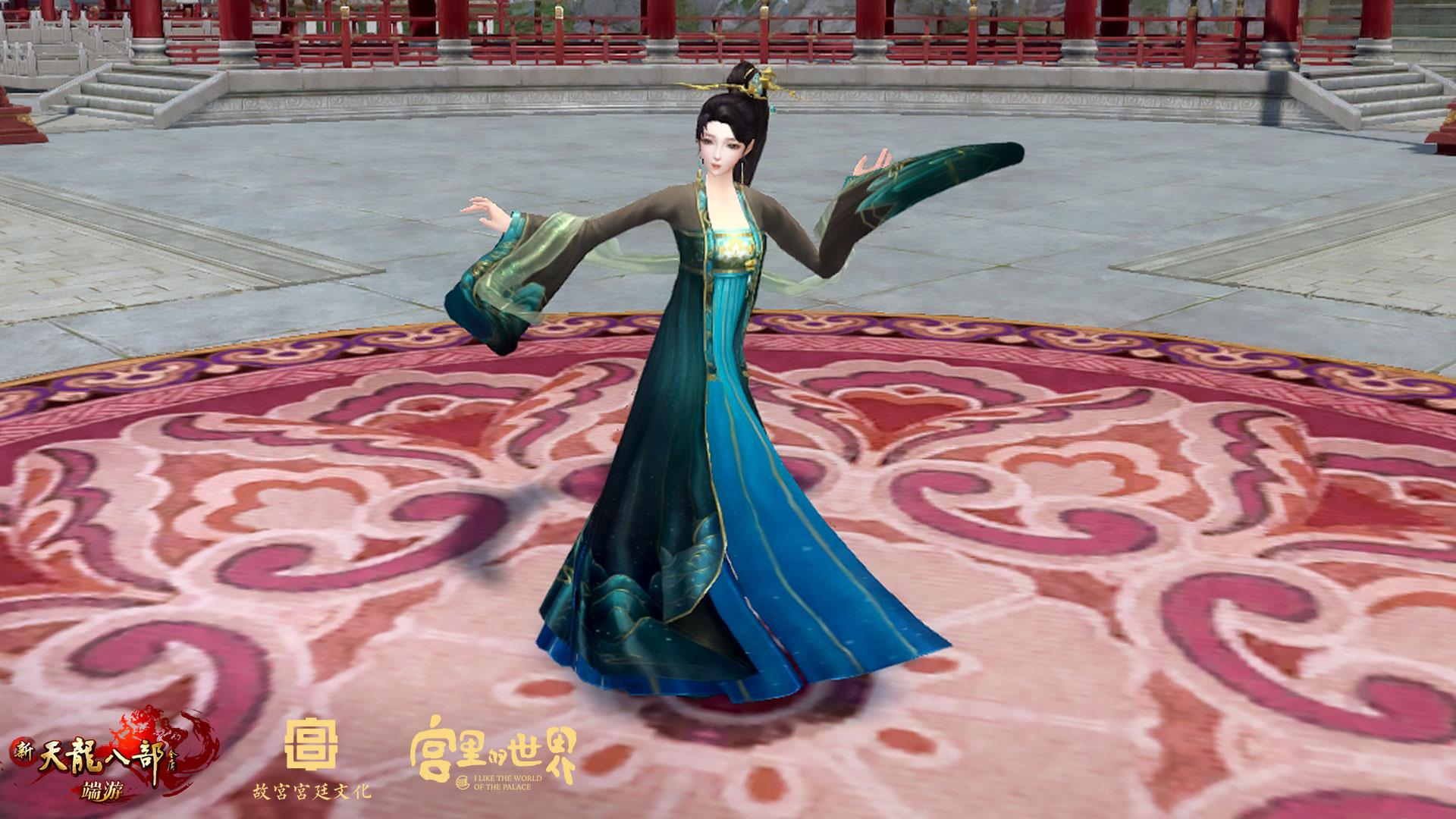 图2:绝美舞蹈亮相汴京
