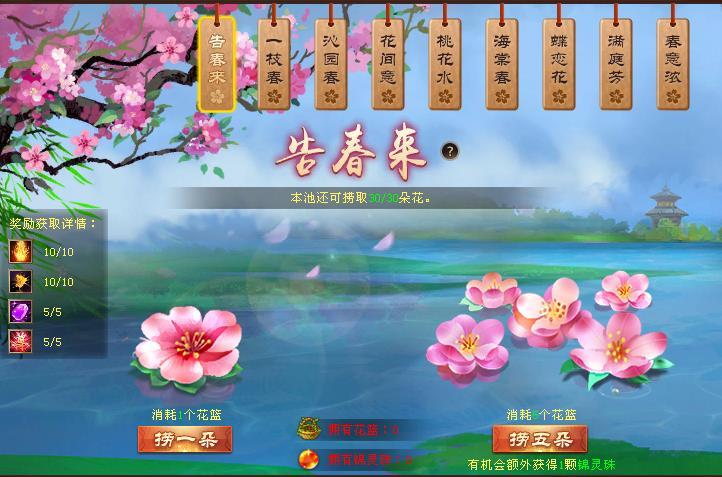 图3:春花盈池