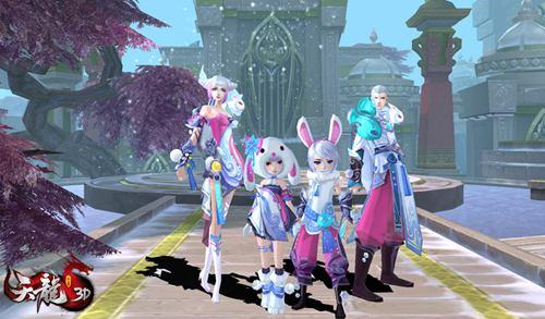冰轮月兔免费送,和子女一起换上萌萌哒兔子套装
