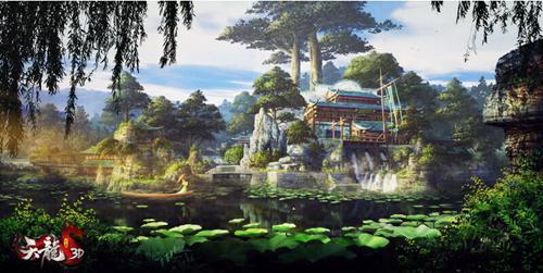 回顾《天龙3D》的武侠世界,每一处风景都值得细细品味,三年时光,感谢有你