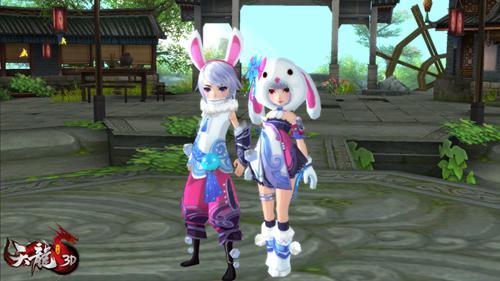 满足玩家个性化需求,先行版资料片将推出经典端游时装的【冰轮月兔】亲子外观