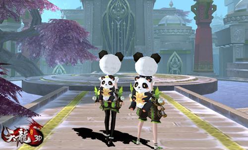 熊猫宝宝背包挂饰,增加子女属性:全防御+2000