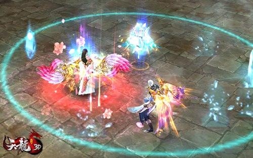 自由染色系统会为玩家提供自动修正颜色,以展现出更加美观的羽翼