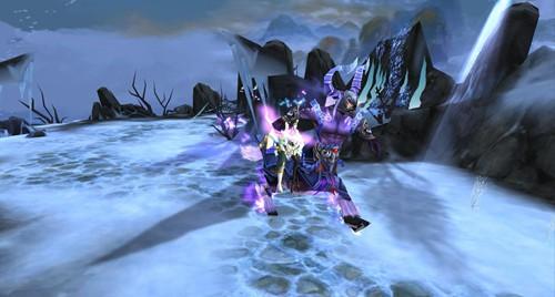 传说中的延续端游的经典紫电坐骑