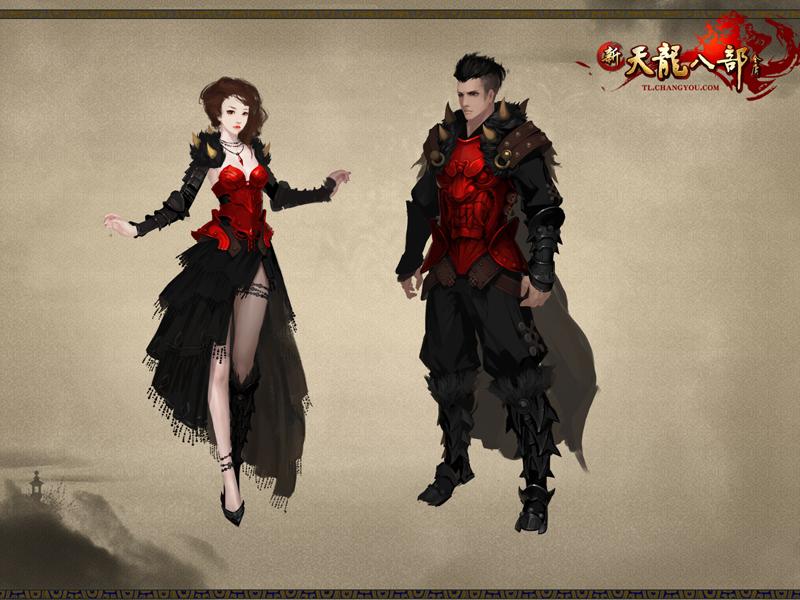 新时装——黑红战甲