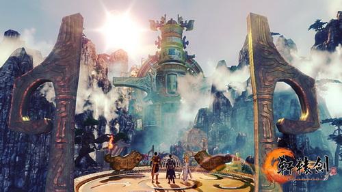 《轩辕剑6》炼妖场景实际截图