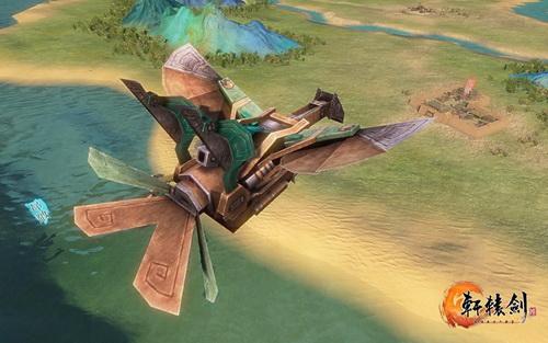 【转】历代最大场景 多图解密《轩辕剑6》大地图