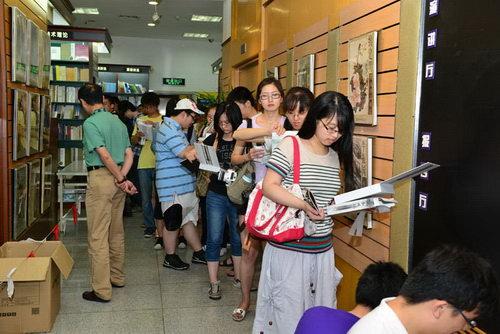 《轩辕剑6》上海火爆签售现场