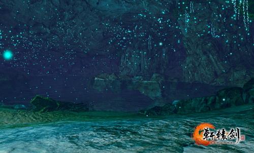 唯美梦幻的之罘山海洞