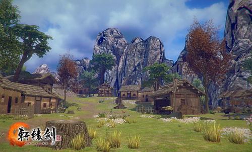 安静祥和的古蜀村落