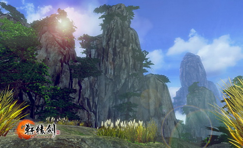 《轩辕剑6》中象征商族文明的太山