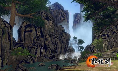 《轩辕剑6》唯美水墨效果 如临画卷之中