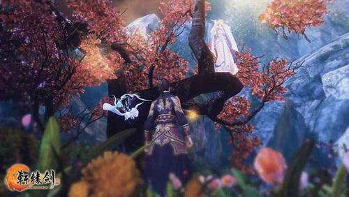 《轩辕剑6》中,瑚月与凤天凌的初次相遇