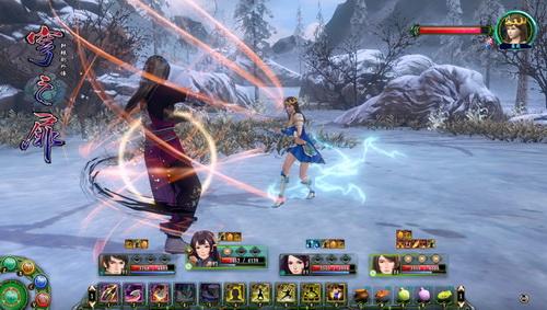 第二部DLC神魔之篇游戏截图